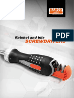 Bahco Ratchet and Bits Screwdrivers-English