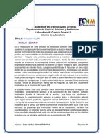 Indicadores y PH Informe 11