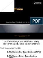 3l Feb 2 2017 the Bar Exam With Cf and Il Slides Updated