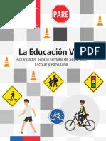 Educacion Vial Semana de La Seguridad Escolar y Parvularia