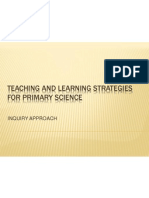 Teaching and Learning Strategies for Primary Science