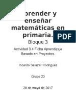 Aprender y Enseñar Matemáticas en Primaria 2