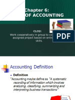 Introduction to Entrepreneurship Chapter 6 Basic of Accounting