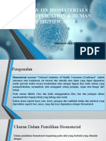 Ppt Biomaterial