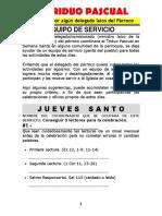 TRIDUO PASCUAL Equipo de Servicio PARA LAICOS y Delegados Del Parroco AkwKgNRtZ7sX4XcjDLXMCkXut