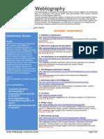 Electronics Webliography