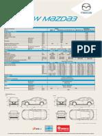 New Mazda3 Sedan FichaPdf