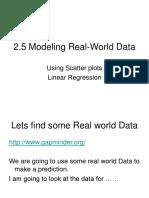 2.5 Modeling Real-world Data