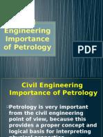 Civil Engineering Importance of Petrology