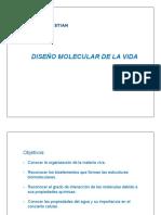 Clase 3 Diseno Molecular de La Vida