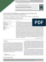 Phytoplankton variability