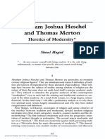 Abraham Joshua Heschel and Thomas Merton