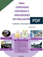 Capacidades Criterios Indicadores de Evaluacion 2010