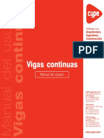 Vigas Continuas - Manual de Usuario