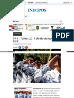 PP 11 Tahun 2017 Ubah Manajemen PNS-nasional Indopos Co Id Read 2017 05-07-97520 PP 11 Tahun 201