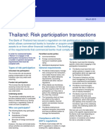 Thailand Risk Participation Transactions 6027263