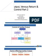 CVP Week 2_Cardiac Output & Venous Return & Control Part 2_Holguin