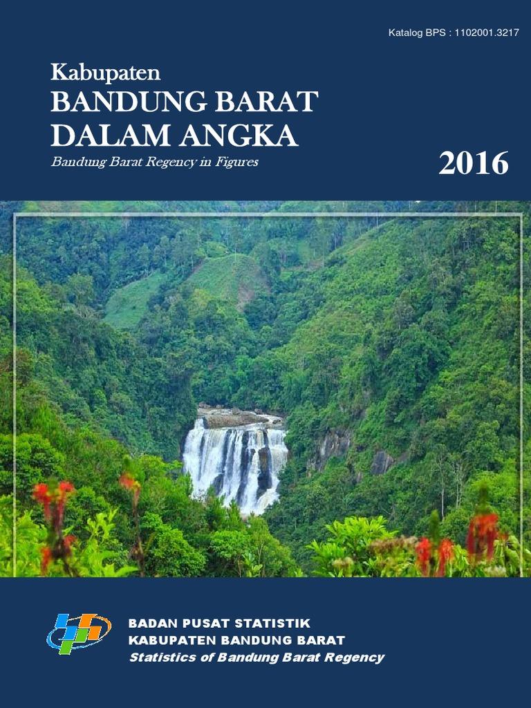 Kabupaten Bandung Barat Dalam Angka 2016