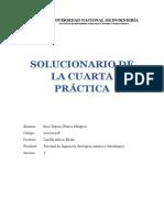 Solucionario de La Cuarta Práctica Calificada de Fisica i