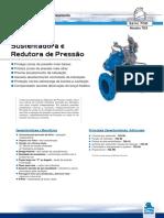 Válvula Sustentadora e Redutora de Pressão - WW-723