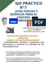 Diapositivas TP N°7- Agentes Físicos y Químicos I