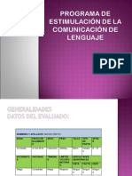 Programa de Estimulación de Lenguaje