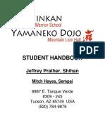 Programação de Estudos - Shihan Jeffrey Prather - USA