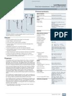 Sitransl Lps200 Fi01 en Siemens Paddle Sensor