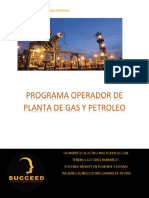 Villamontes Programa Operador de Planta de Gas y Petroleo