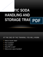Caustic Soda Storage and Handling Training