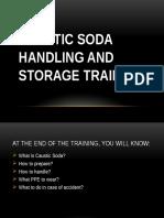 Caustic Soda Storage and Handling Training