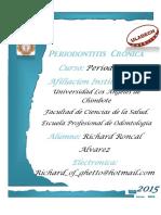 Periodontitis Cronica