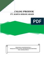 Katalog Produk & Harga