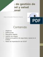 Sistema de Gestión de Seguridad y Salud Ocupacional Fiia