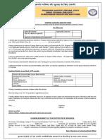 GoI Jeevan Jyoti Yojana Scheme Application Form in English