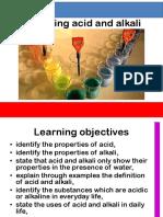Analysing Acid and Alkali