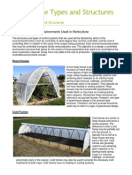 Greenhouse Types and Structures