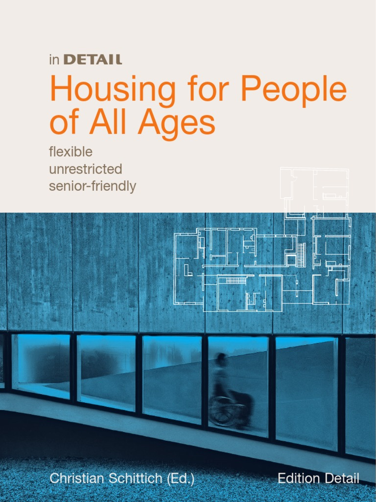 In detail housing for people of all ages social group public housing