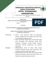 Pemantau Pelaksanaan Prosedur Pemeliharaan Dan Sterilisasi Instrument