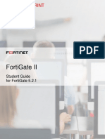FortiGate II Student Guide-Online