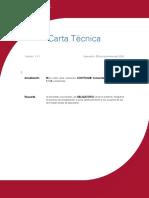 Carta Tecnica Comercial StartPro 131