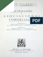 1250 Ascarelli - Sociedades y Asociaciones Mercantiles