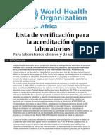 001 - Laboratory Accreditation Preparedness Checklist 2012 SP (1)