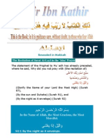 Tafsir Ibn Kathir - 092 Layl