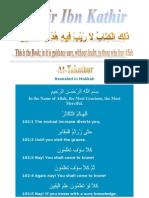 Tafsir Ibn Kathir - 102 Takathur