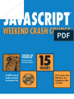 Hungry Minds Javascript Weekend Crash Course (2001)