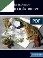 Antologia Breve - Jose B Adolph