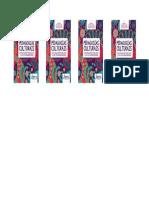 Marcador de Livro - Pedagogias Culturais