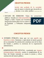 1. Estado, Funciones Poder - D. Administrativa
