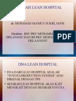Sejarah Lean Hospital Workshop
